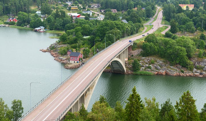 Bridge in the Åland Islands, Finland