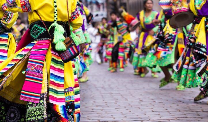 Local festival, Cusco, Peru
