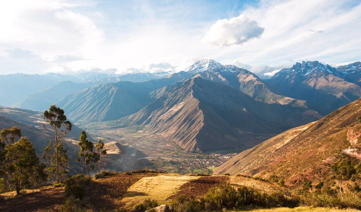 The Sacred Valley of the Incas, Cusco, Peru