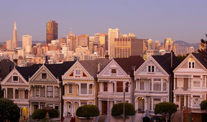 Alamo Square, San Francisco | Trips to California