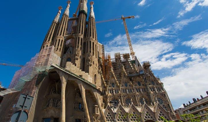 Antoni Gaudí's Sagrada Família, Barcelona, Spain