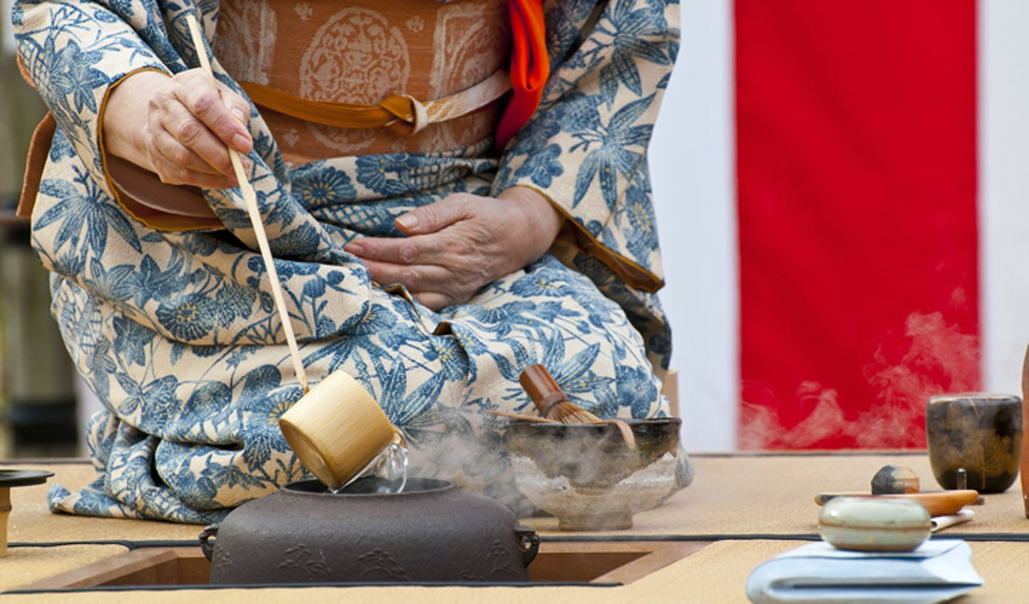 traditional tea ceremony Kyoto