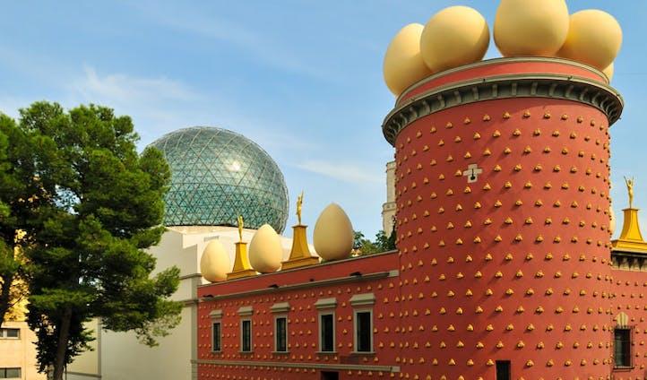 Dalí's Theatre-Museum, Figueres, Spain