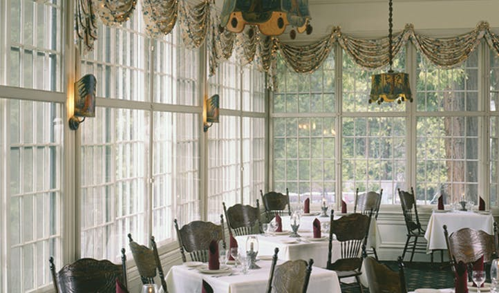 Dining room at Wawona Hotel | Yosemite