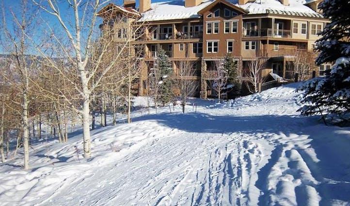 A view of Woodrun Place Resort, Snowmass, USA
