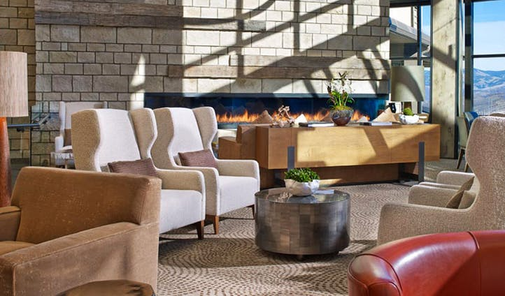 The lounge at the Westin Resort, USA