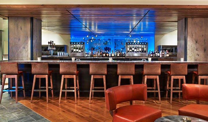 The bar at the Westin Snowmass, USA