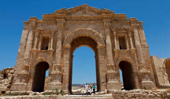 Historic sites in Jordan
