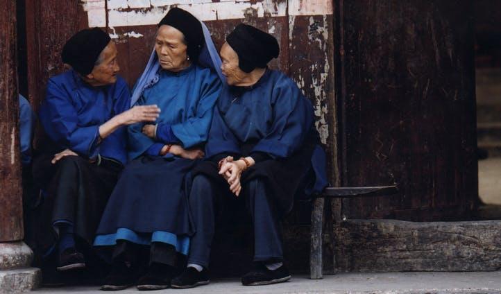 Elders in Lijiang, China