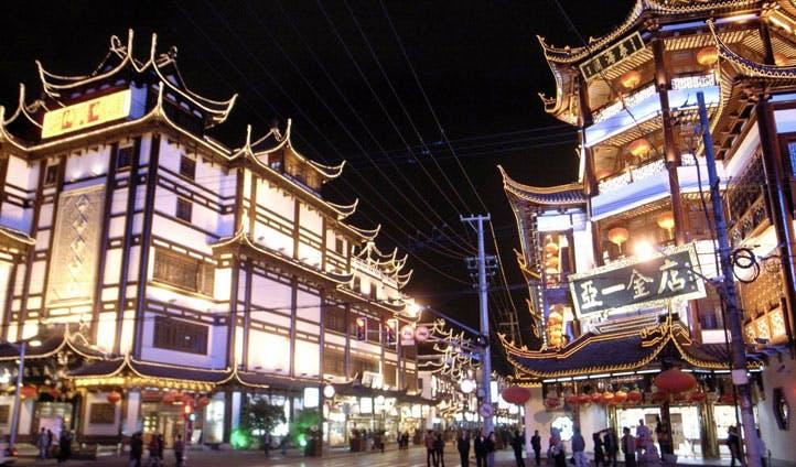 Holidays in Shanghai