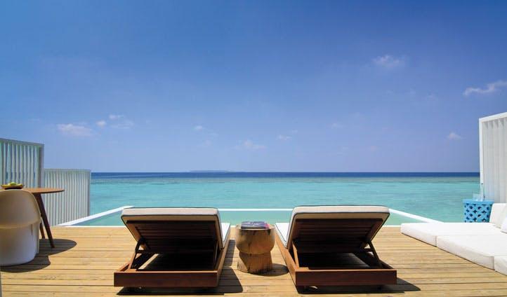Lagoon deck amilla fuishi, the maldives