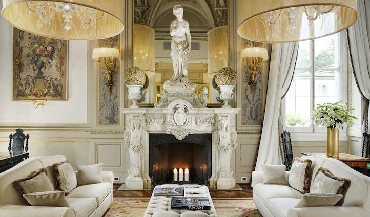 Villa Cora's Drawing Room, Florence