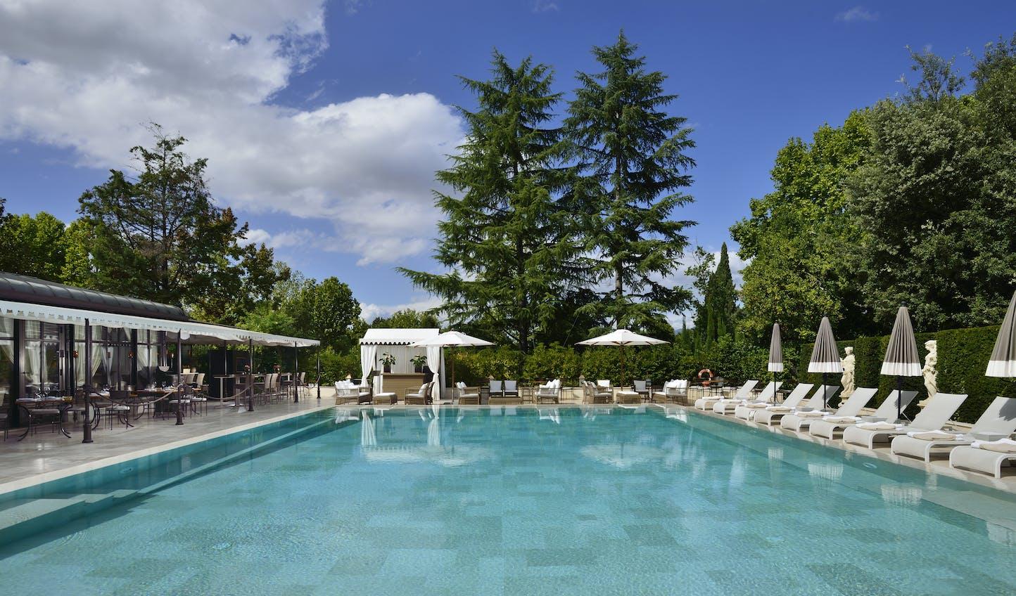 Villa Cora's Pool, Florence