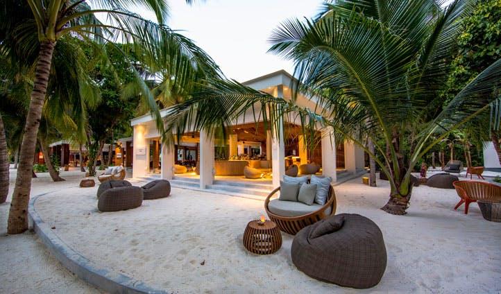 Amilla Fushi restaurant, the maldives