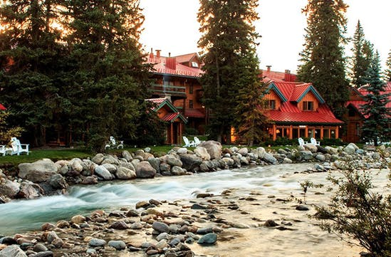 An enviable location by the river, Canada