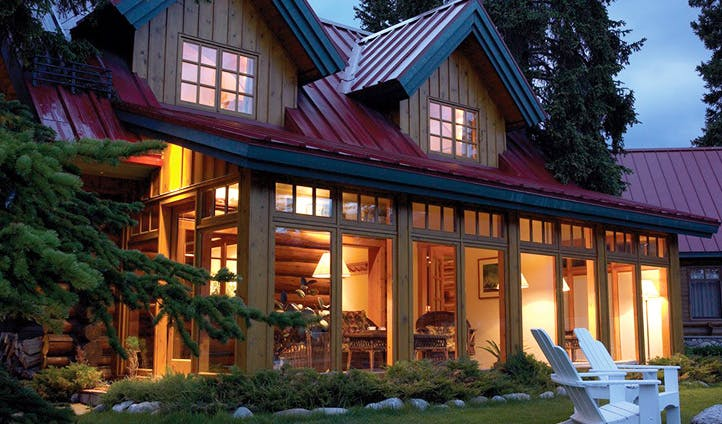 Your luxury cabin, Canada