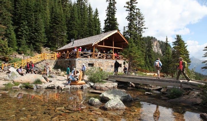 The teahouse, Banff, Canada