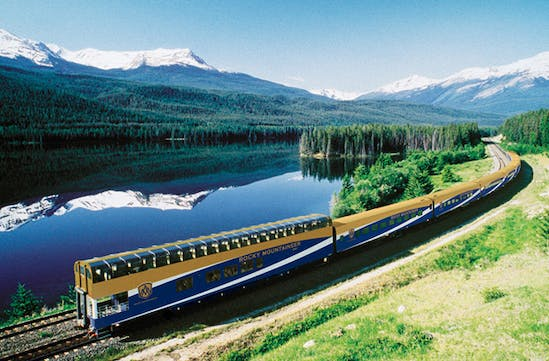 The Rocky Mountaineer, Canada