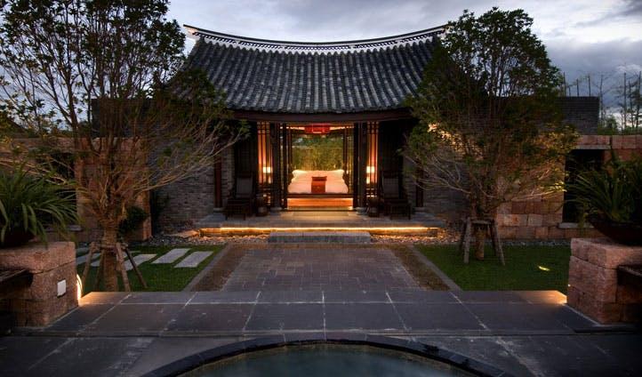 Villa at Banyan Tree China