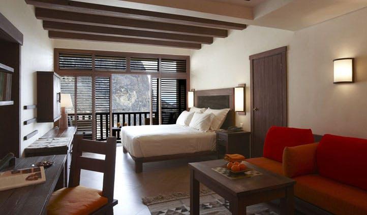 A bedroom at Evason Ma'In Hot Springs, Jordan