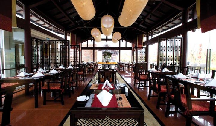 Restaurantm Banyan Tree Lijiang