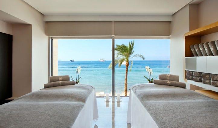 Enjoy a spa treatment by the sea at the Kempinski Hotel Aqaba, Jordan