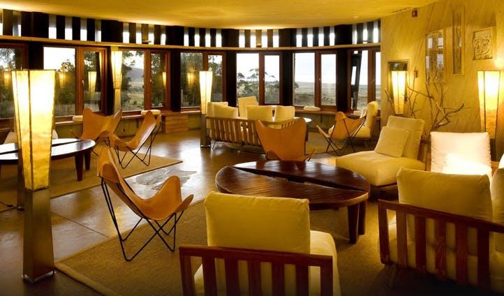 Explora Lodge's lounge