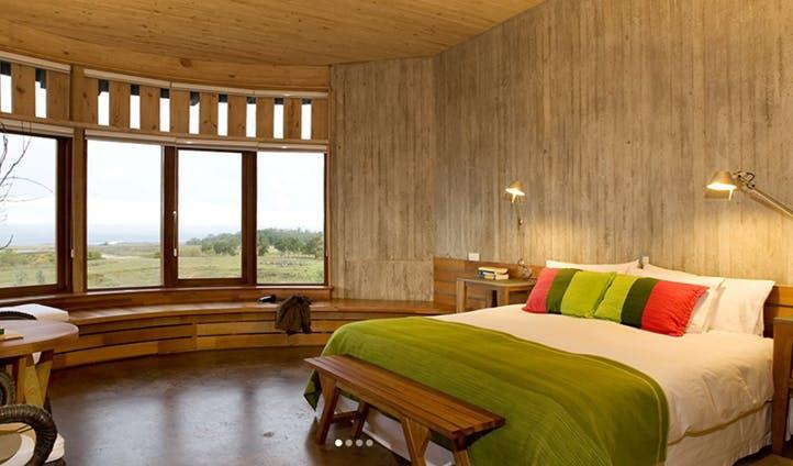 A room at Explora Lodge, Chile