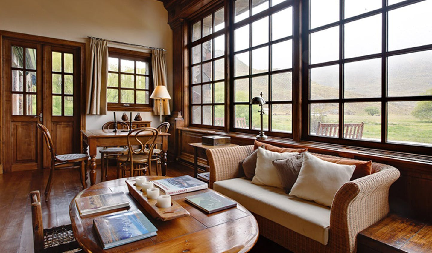 The views from Estancia Lodge, Chile
