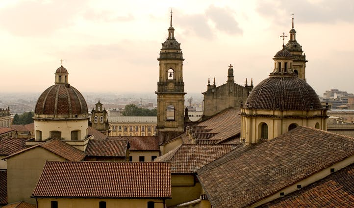 Rooftops of Bogota, Colombia
