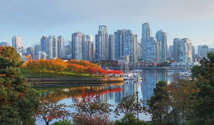 Vancouver's skyline, Canada