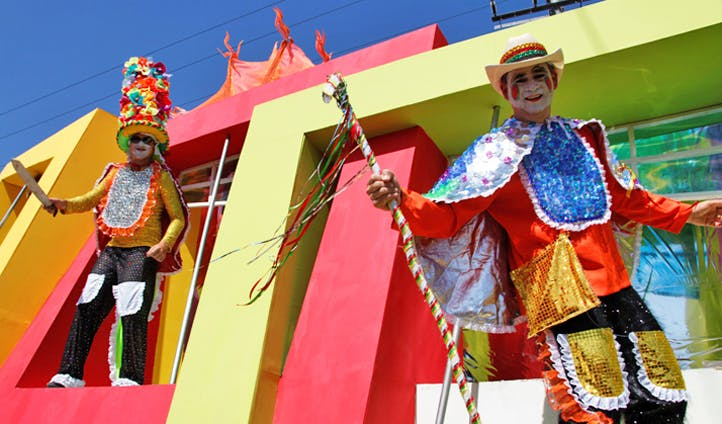 Carnival fun in Colombia