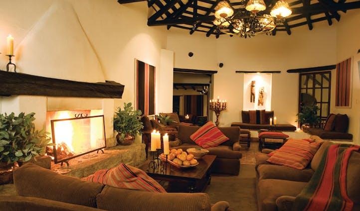 Lobby of Hotel Inkaterra, Arequipa