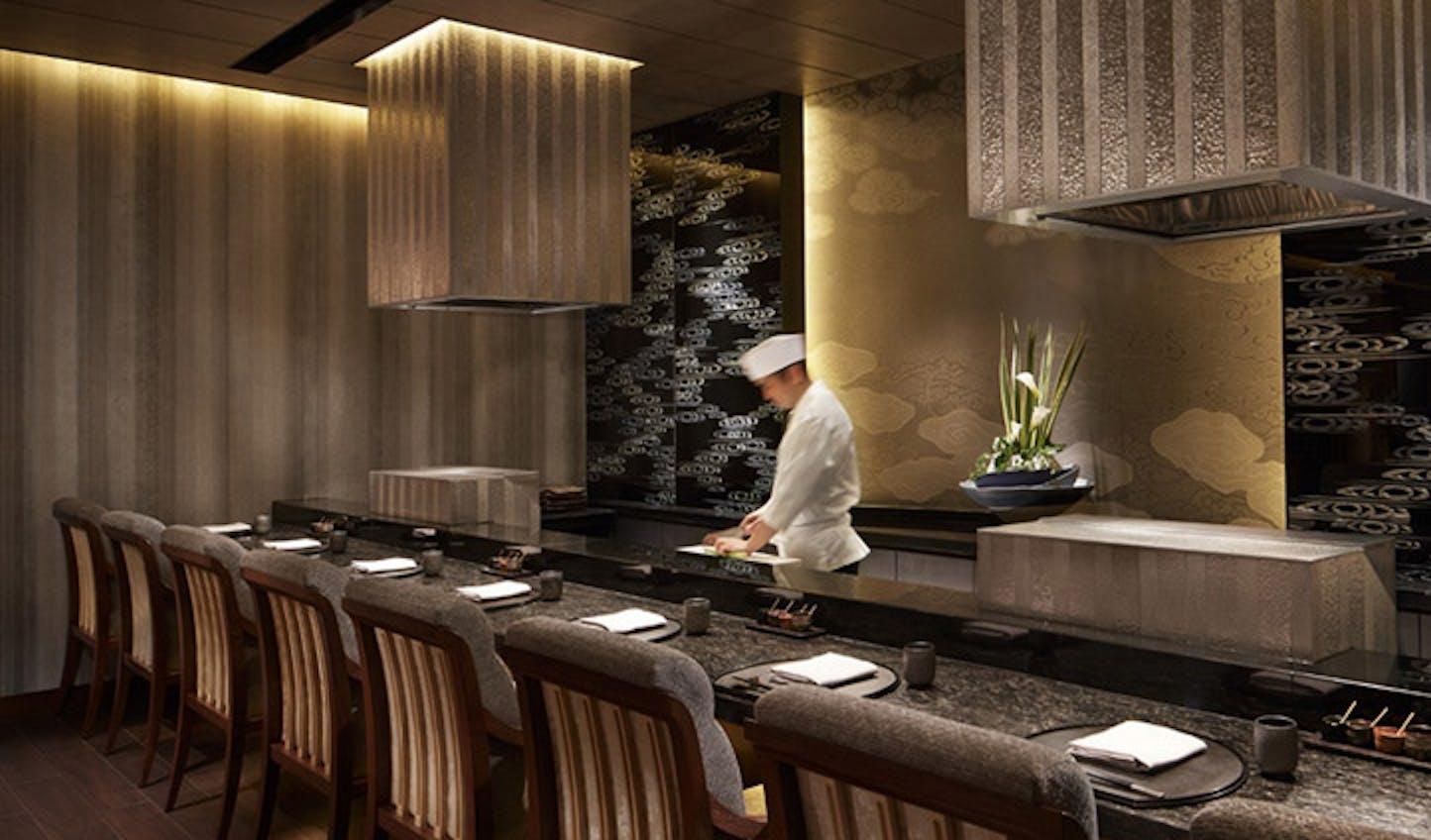 One of the Ritz-Carlton, Kyoto restaurants