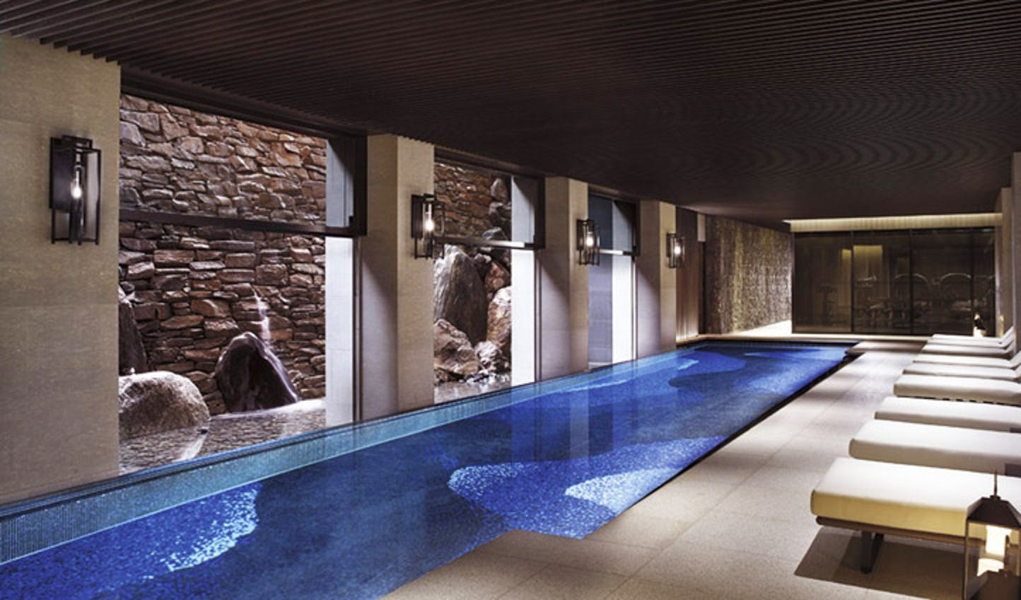 The pool at the Ritz-Carlton, Kyoto