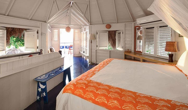 A room at the caves hotel, Jamaica