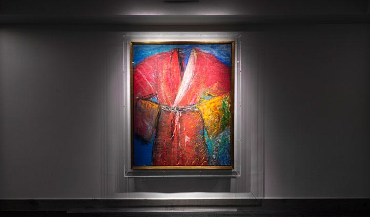 Jim Dine dressing gown