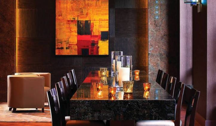 Dining room, Four Seasons in Denver