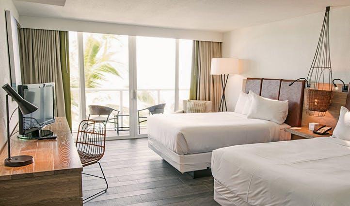 A room at Amara Cay Resort, Florida Keys, USA