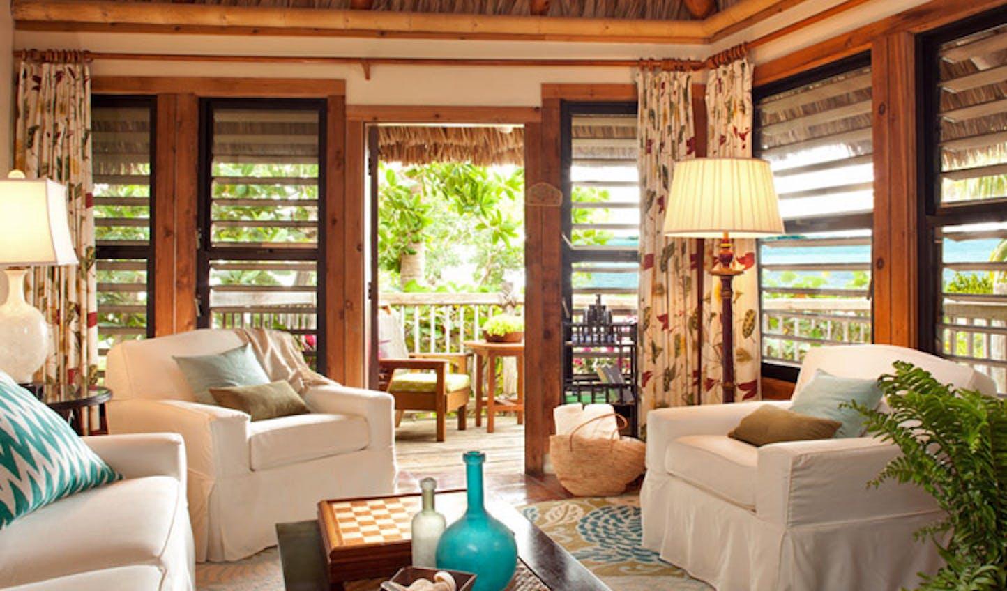 A suite at Little Palm Resort, Florida Keys, USA