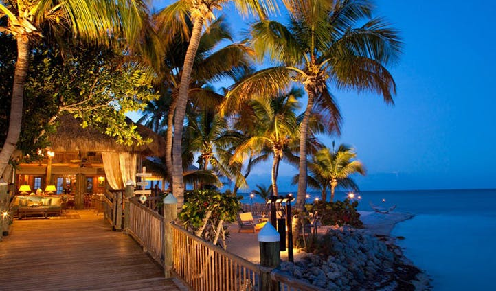 Architecture at Little Palm Resort, Florida Keys, USA