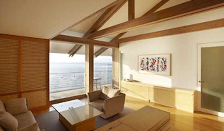 Benesse House suite, Naoshima Japan