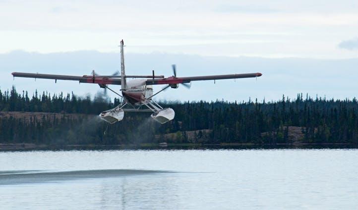 Boatplane, Northwest Territories.
