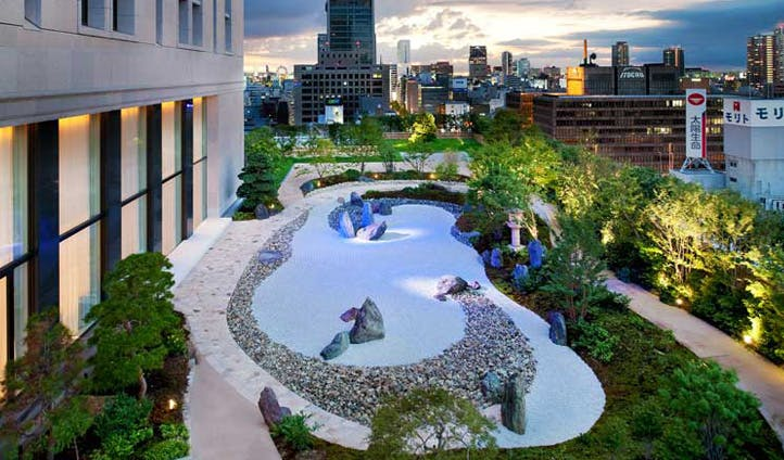 Zen Terrace, St. Regis Osaka, Japan