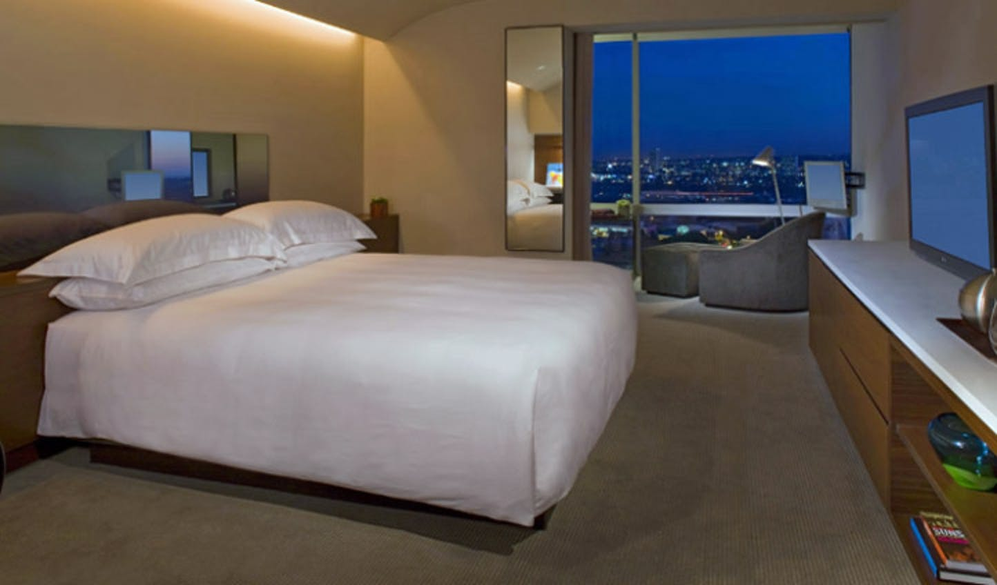 A room at the Andaz West Hollywood