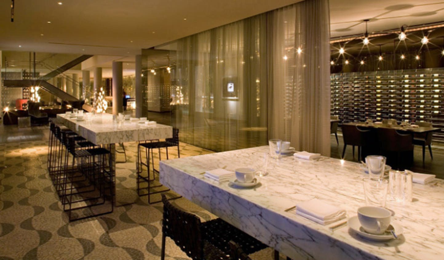 Dining at the Andaz West Hollywood