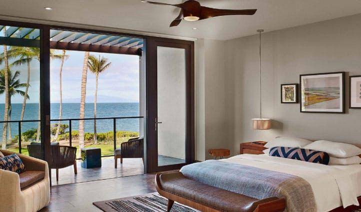 room view luxury hotel