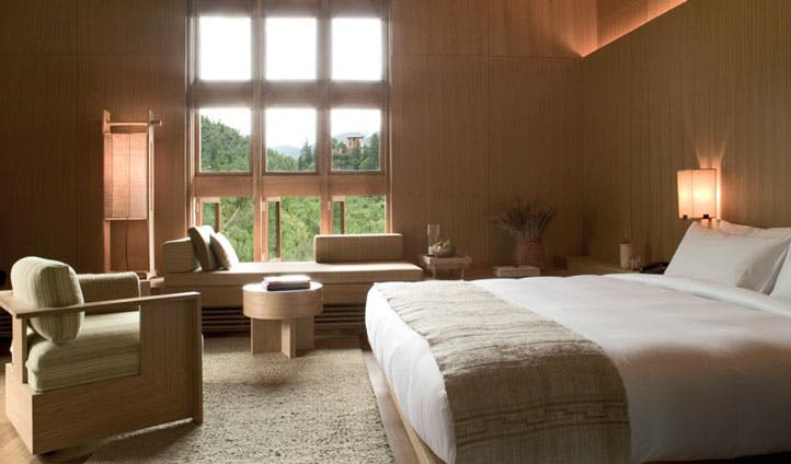 inside guest suite paro lodge