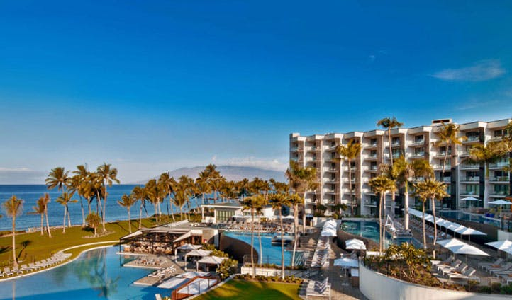 overview of Maui hotel