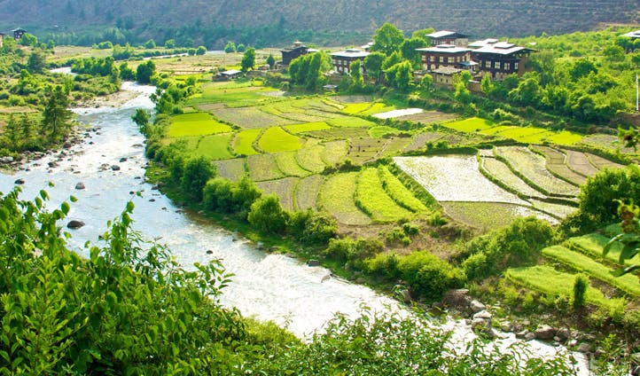 landscapes bhutan